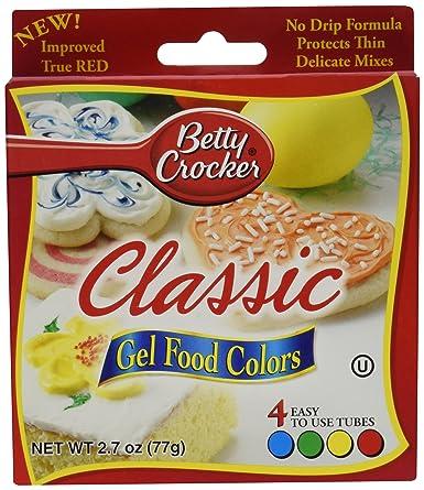 Betty Crocker Food 4color Gel Clssc