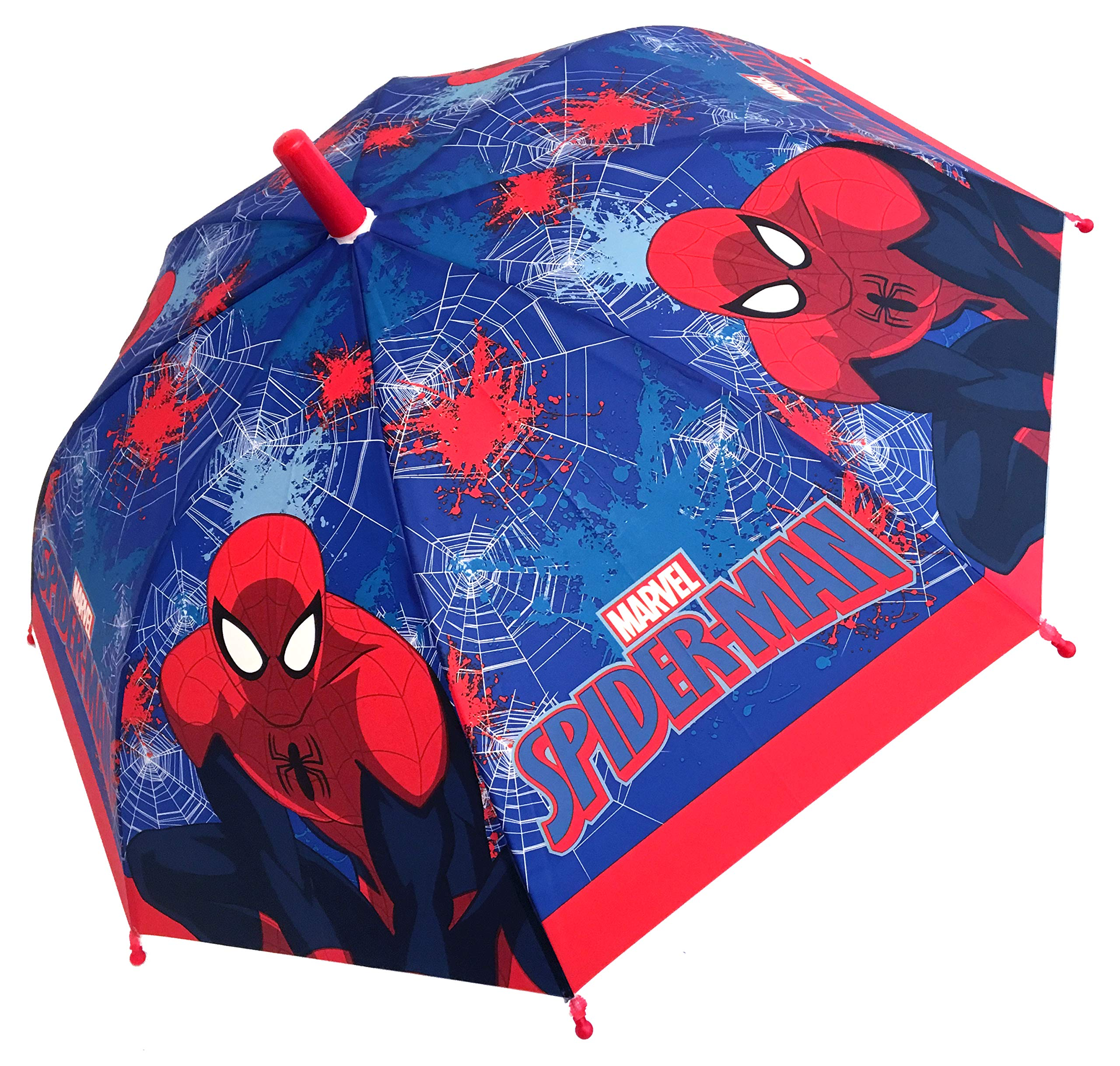 Marvel Spiderman Umbrella Blue
