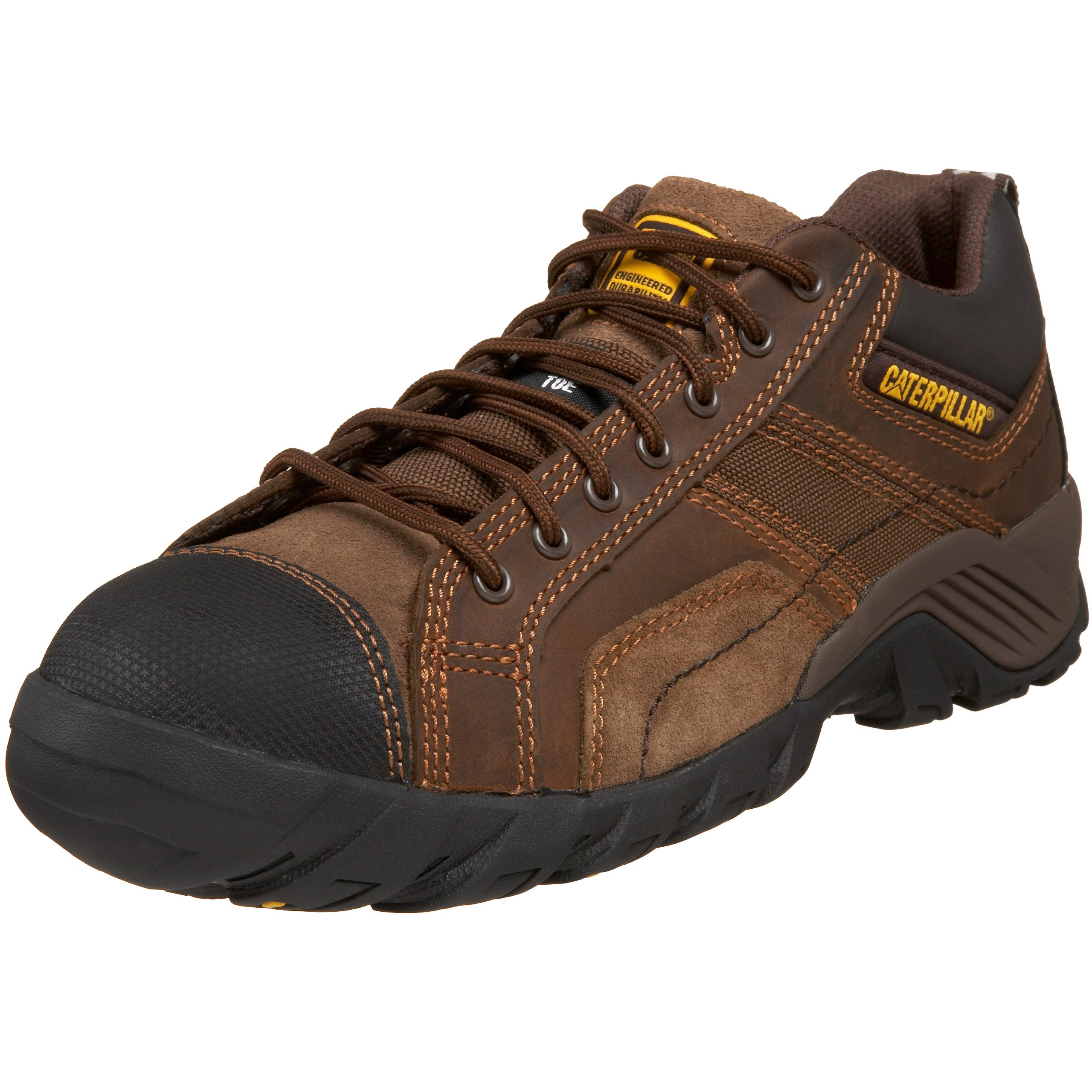 Caterpillar Men's Argon Composite-Toe Lace-Up Work Boot,Dark Brown,7.5 M US by Caterpillar