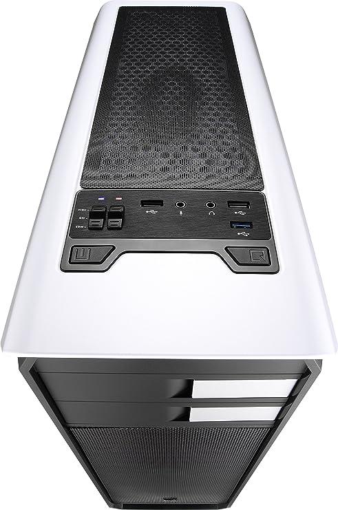 Aerocool AERO500 - Caja gaming para PC (semitorre, ATX, ventana ...