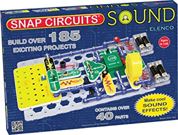 Amazon.com: Snap Circuits Sound Electronics Discovery Kit: Toys ...