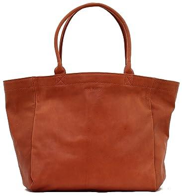97cbbbb15c7c4 MON PARTENAIRE M Naturel sac à main en cuir cabas fourre-tout style vintage  PAUL