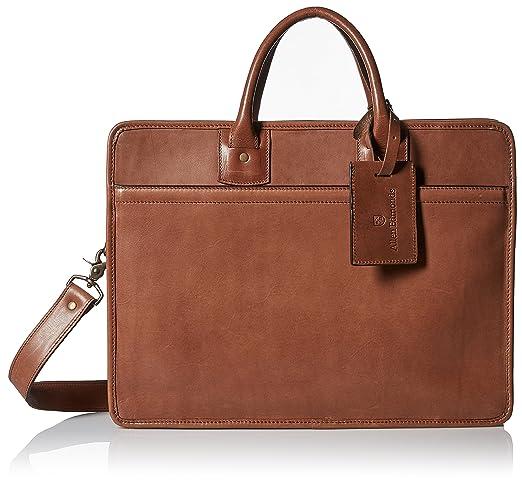 f7e53789da90d Amazon.com  Allen Edmonds Men s Single Gusset Briefcase
