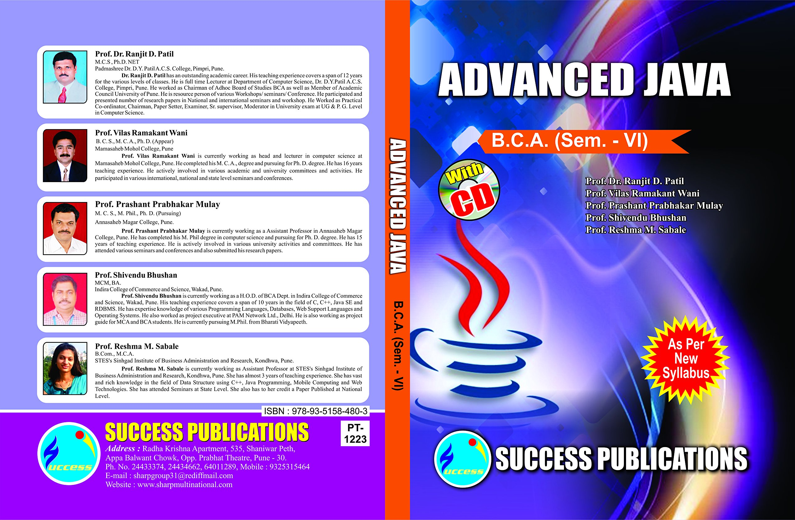 Buy Advanced Java Book Online at Low Prices in India