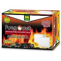 FUEGO NET Fuegonet 231442N Pastillas, Blanco, 19.5 x