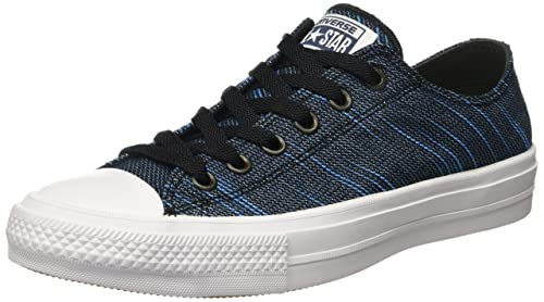 16a819e61003 Converse Unisex Adults  Chuck Taylor All Star II Ox Sneaker Low-Top Sneakers
