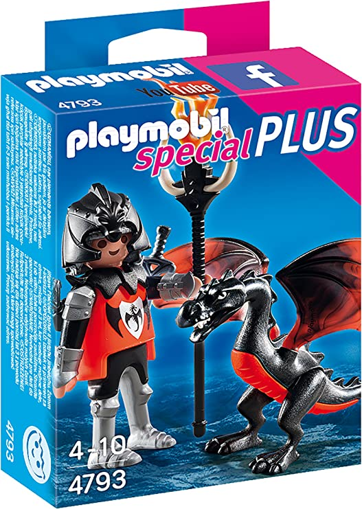 Playmobil 4793 - Caballero con dragón: Amazon.es: Juguetes y juegos