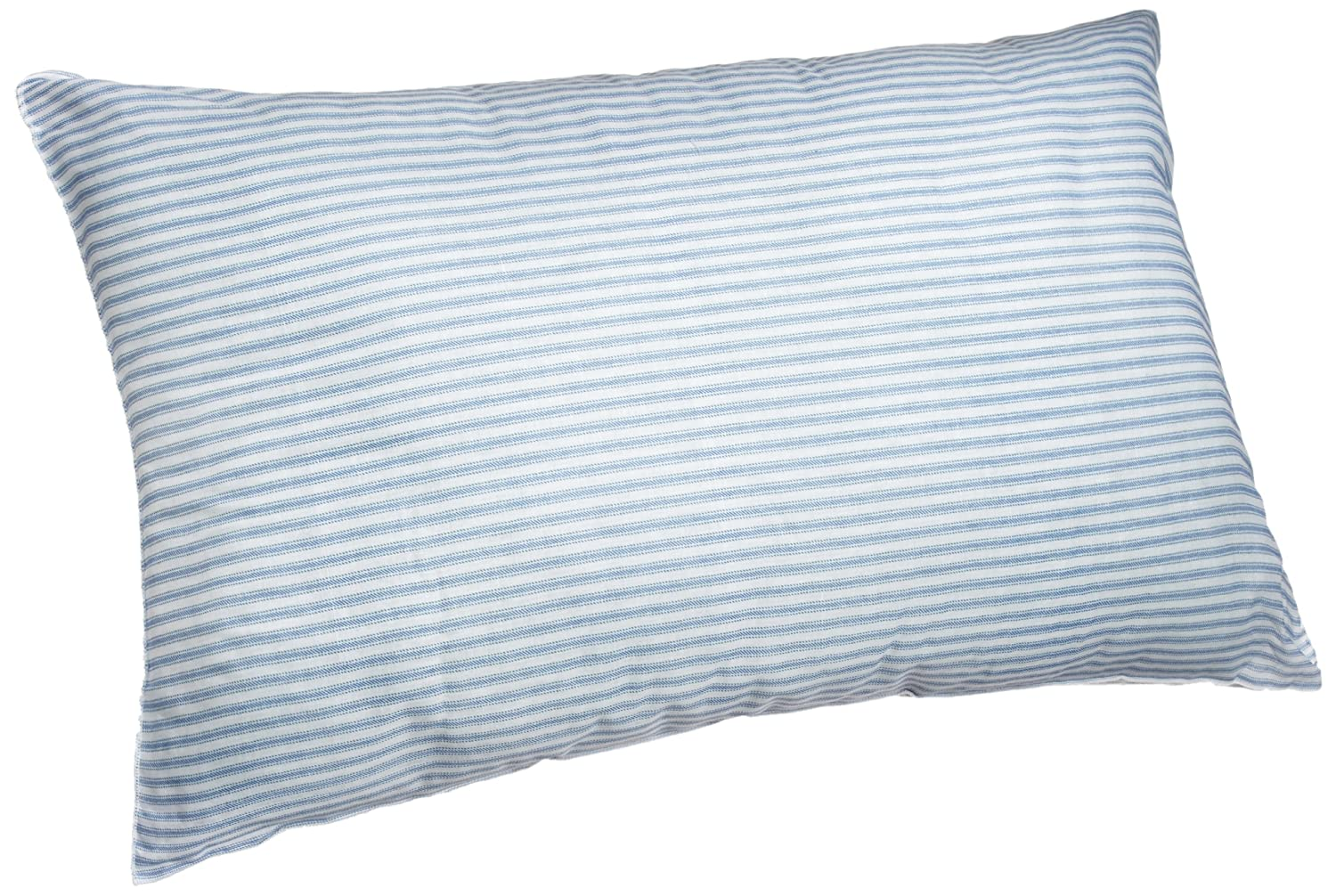 Blue And White Pillows Part - 33: Amazon.com: Adorable Adored Granny Pillow With Blue And White Stripe Poly  Cotton Cover, Standard: Home U0026 Kitchen