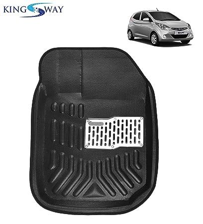 Kingsway Kkm3dmbk00022 3d Car Floor Mat For Hyundai Eon Pack Of 5