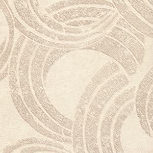 Gatty Non Pasted Shapes PVC Wallpaper, Beige, 709-2