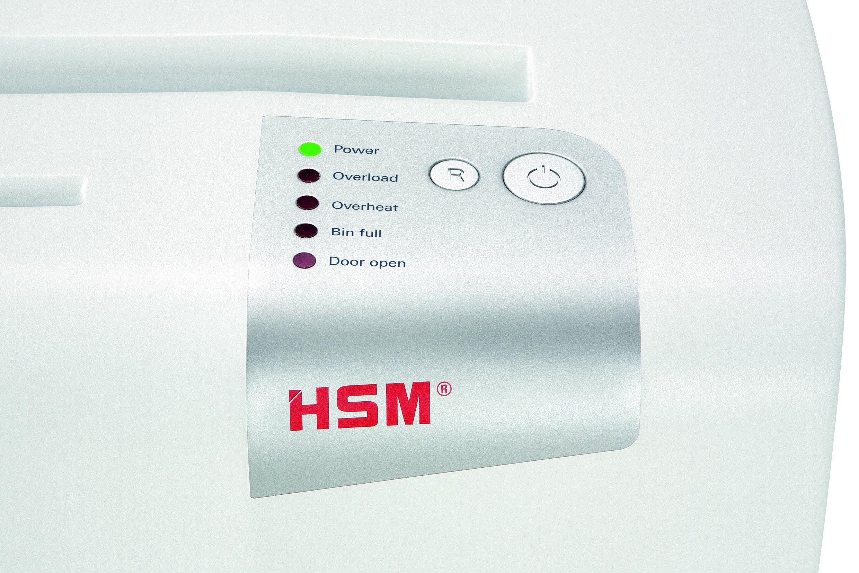 HSM shredstar S25 Strip-Cut Shredder; Shreds Up to 25 Sheets; 6.9-Gallon Capacity Shredder by HSM (Image #2)