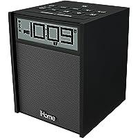 iHome - Rádio Relógio Bluetooth com NFC, Entrada Auxiliar e Carregamento USB