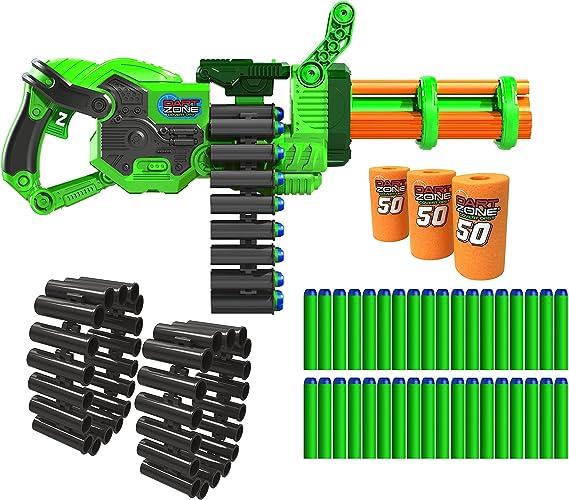 Dart Zone Super Commando Gatling Blaster