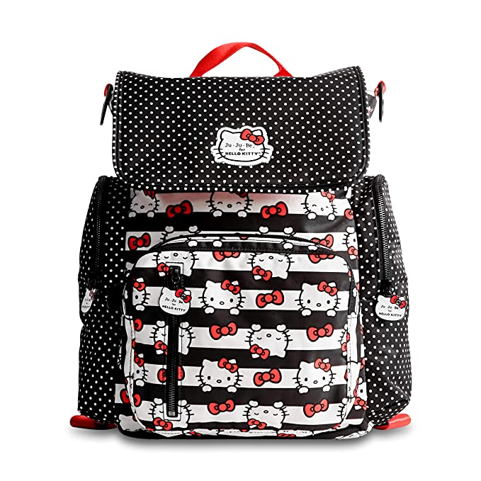Amazon.com   Ju-Ju-Be Be Sporty Hello Kitty Dots and Stripes   Baby a0b10c5a1df88