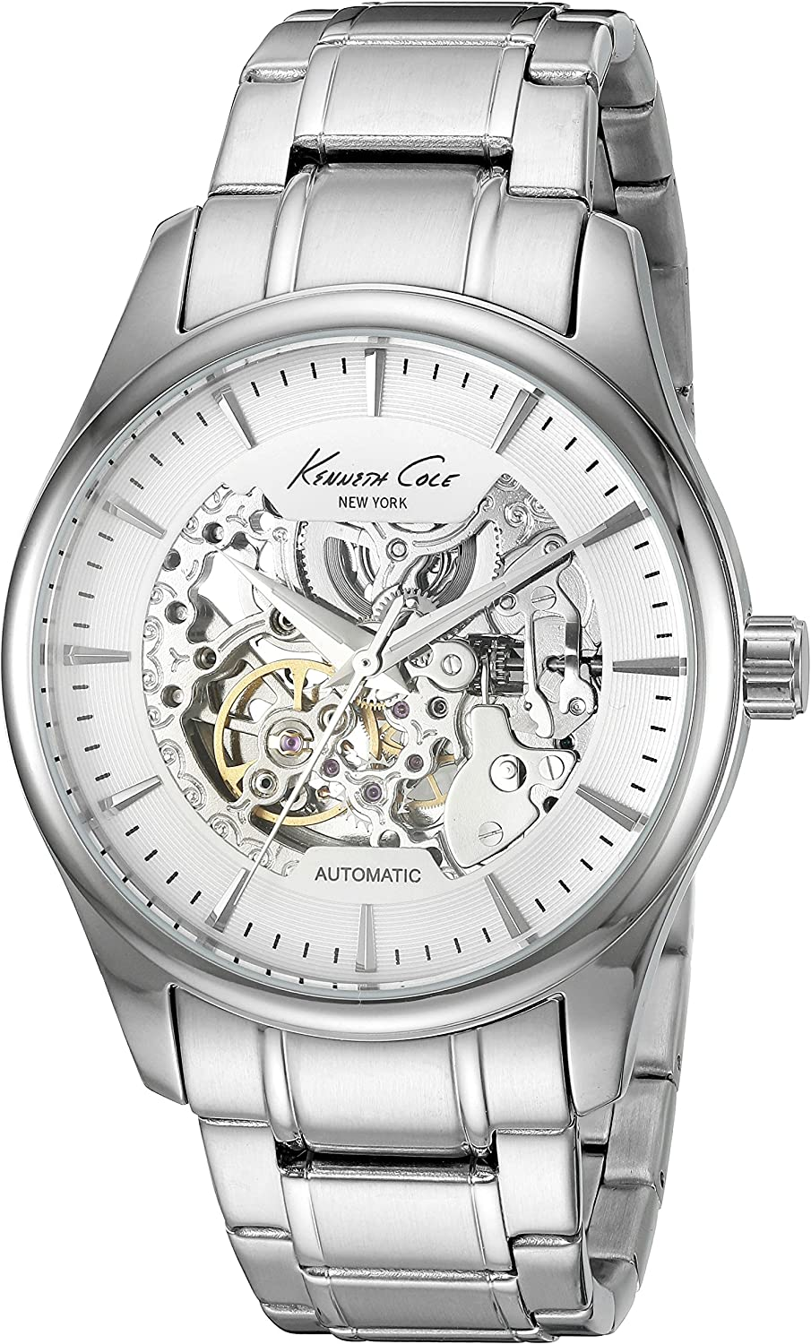Kenneth Cole New York Men s Automatic Automatic Stainless Steel Dress Watch Model 10027200