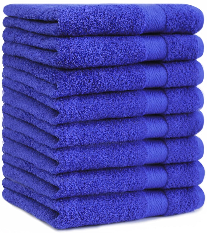 Betz 8-TLG. Handtuch-Set Premium 100% Baumwolle 8 Handtücher Handtücher Handtücher Größe 50x100 cm Farbe hellblau B00F2I3ROG Duschtücher ffc94f