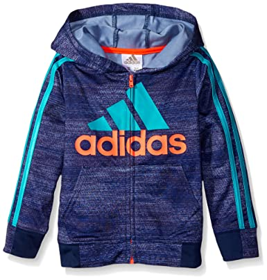 81ff2dace Adidas Toddler Boys' Athletic Pullover Hoodie, Dark Indigo/Blue, 2T:  Amazon.in: Clothing & Accessories