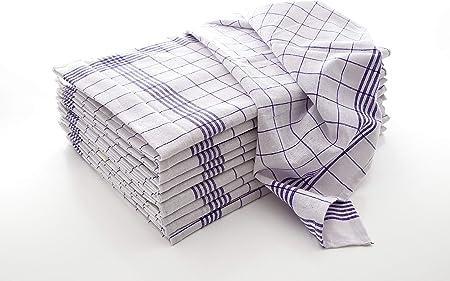 50x70cm 100/% coton Cuisine foulards Pack vaisselle foulards