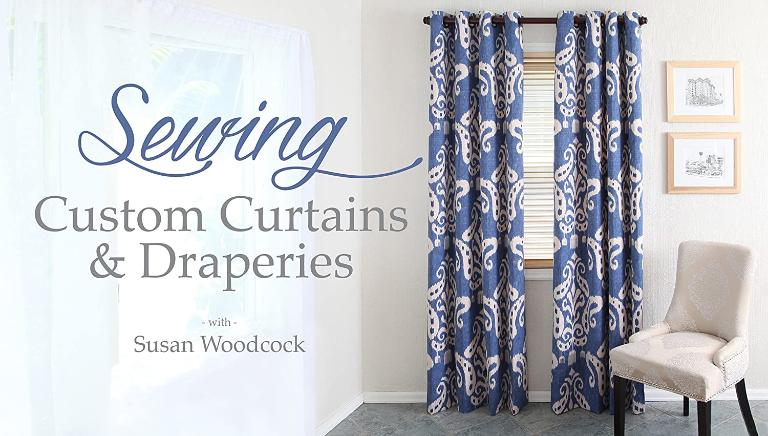 curtain modern custom jacquard blue block color patterned polyester p curtains