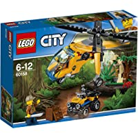 LEGO City Jungle Cargo Helicopter 60158 Playset Toy