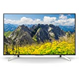 "Sony KD-43XF7596 Televisore da 43""4K HDR LED con Android TV, Motionflow XR 400 Hz, 4K X-Reality PRO, Wi-Fi, Nero"