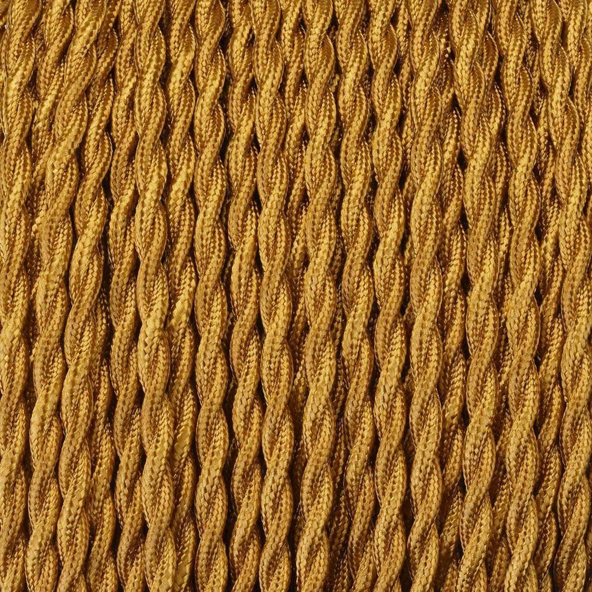 GreenSun C/âble Electrique Textile Pour Lampe,Fil de cuivre recouvert de lin,2 noyaux,R/étro Tress/é Industriel Corde,Pour Accessoires De Lampe /À Suspendre,5M-Caf/é