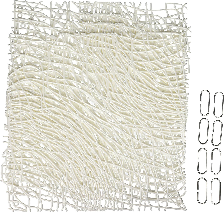 Anthracite Transparent Koziol 2033540 El/ément D/écoratif Plastique 0,3 x 27,1 x 27,1 cm