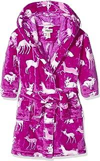 Hatley Fleece Robe-Deers & Bunnies, Vestido para Niños