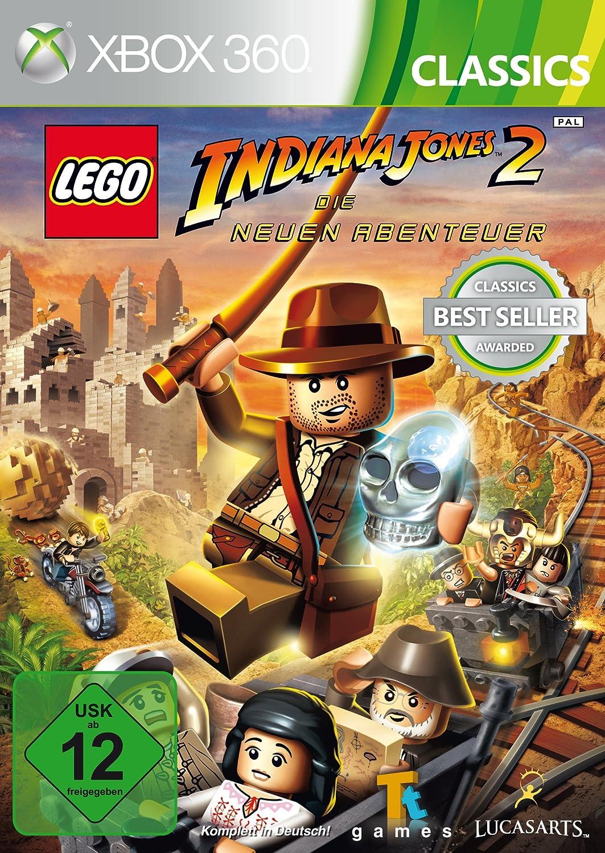Xbox 360 - LEGO Indiana Jones 2: Die neuen Abenteuer: Amazon.es ...