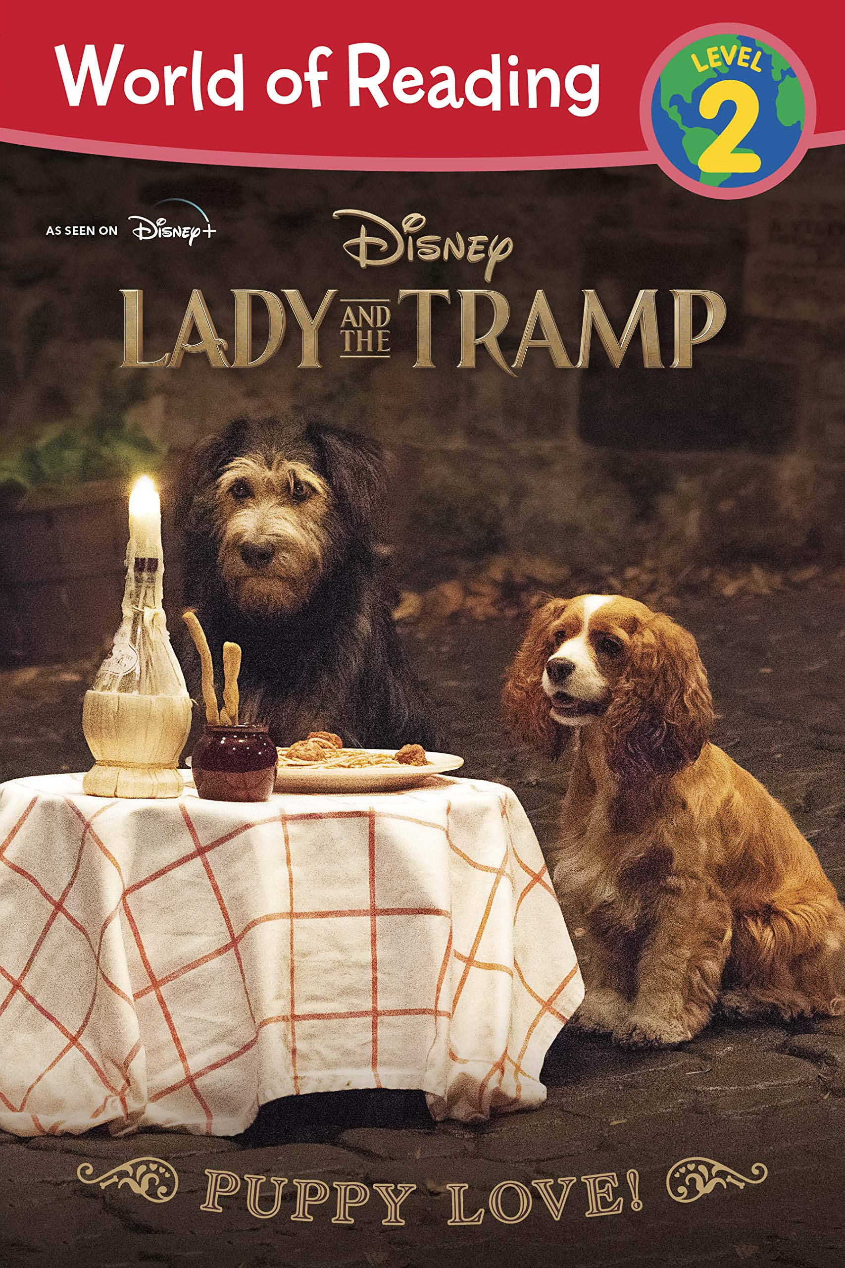 Amazon Com Lady And The Tramp Puppy Love World Of Reading 9781368059268 Stephens Elle Books