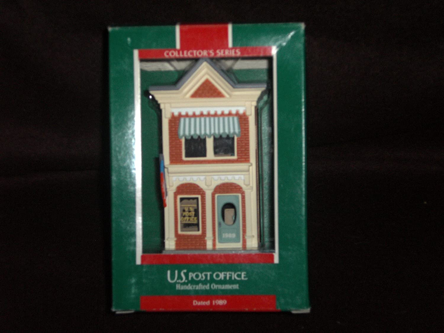 Hallmark 1989 U.S. Post Office Handcrafted Keepsake Ornament Collector's Series