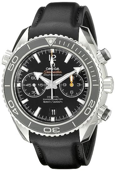 Omega Seamaster Planet Ocean - Reloj (Reloj de pulsera, Masculino, Caucho, Acero