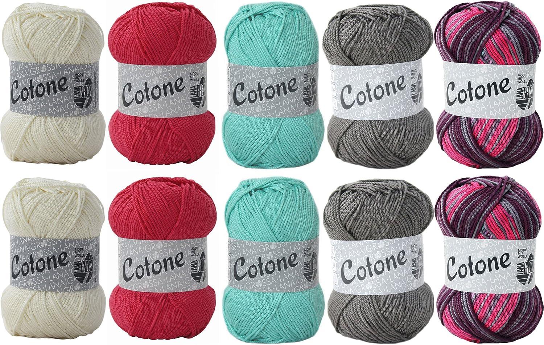 Cotone lana Grossa lana Mix – Camiseta para mujer WOLL Canyon del ...