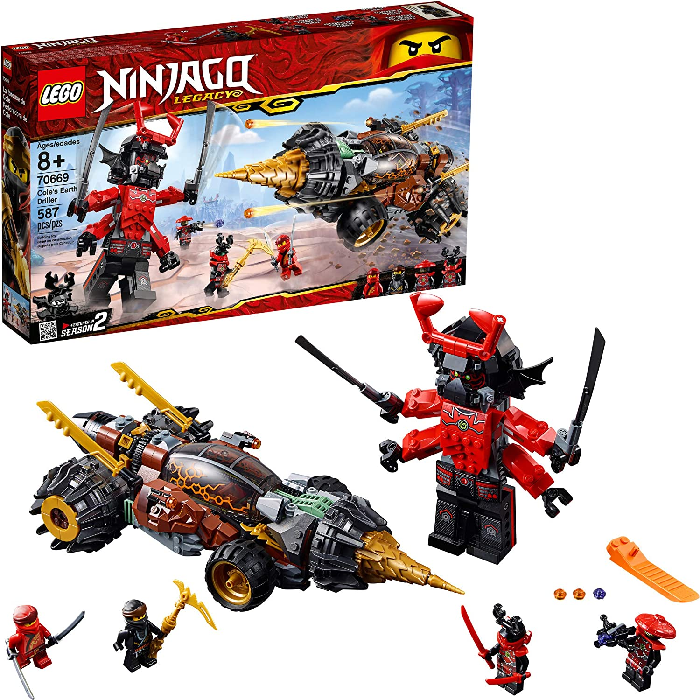 LEGO NINJAGO Legacy Coles Earth Driller 70669 Building Kit, 2019 (587 Pieces)