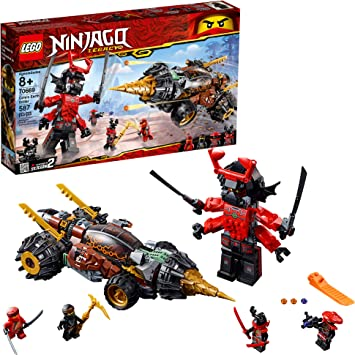 Amazon.com: LEGO Ninjago Legacy Coles Earth Driller 70669 ...