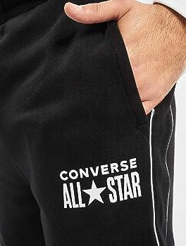 Converse All Star Pantalón de Deporte Black: Amazon.es: Ropa y ...