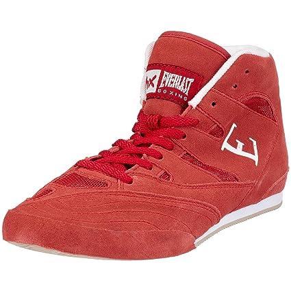 Everlast Lo Top Boxing - Botas de boxeo para hombre, tamaño 40, color rojo