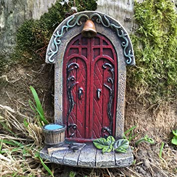 Décoration miniature originale et sympa en forme de porte de ...