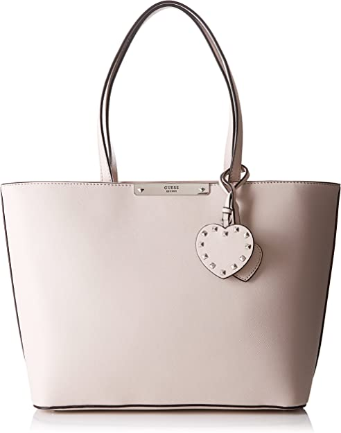 Guess Britta Borsa tote nude: Amazon.it: Scarpe e borse