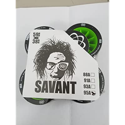 Atom - Roller Derby Roue Savant Black 59mm-95a - Taille:one Size