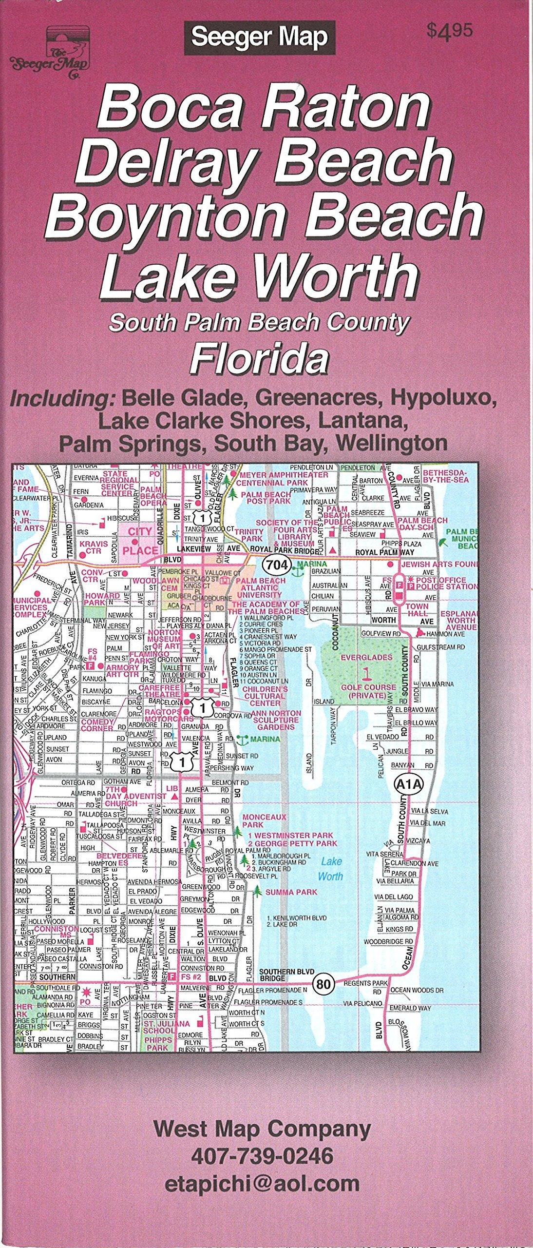 Map Of Florida Showing Delray Beach.Boca Raton Delray Beach Boynton Beach Lake Worth South Palm