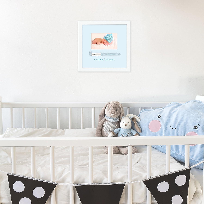 Amazon.com: Tiny Ideas Baby\'s Hospital Keepsake Photo Frame, Perfect ...