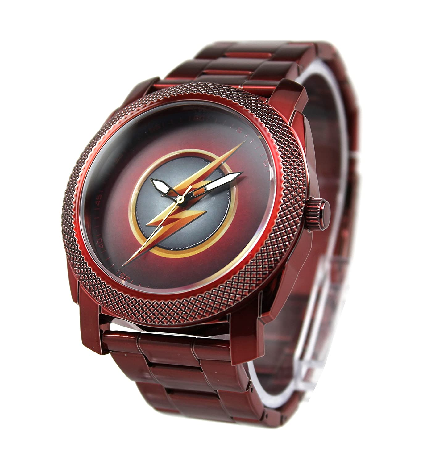 Amazon.com: The Flash CW Stainless Steel Red Watch (FLT8006): Superhero Watches: Watches