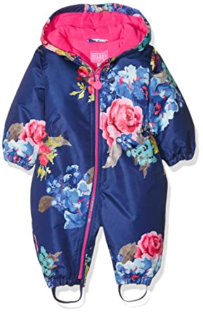 2bf219802 Joules Inf girls snowsuit Blue (Navy Floral)