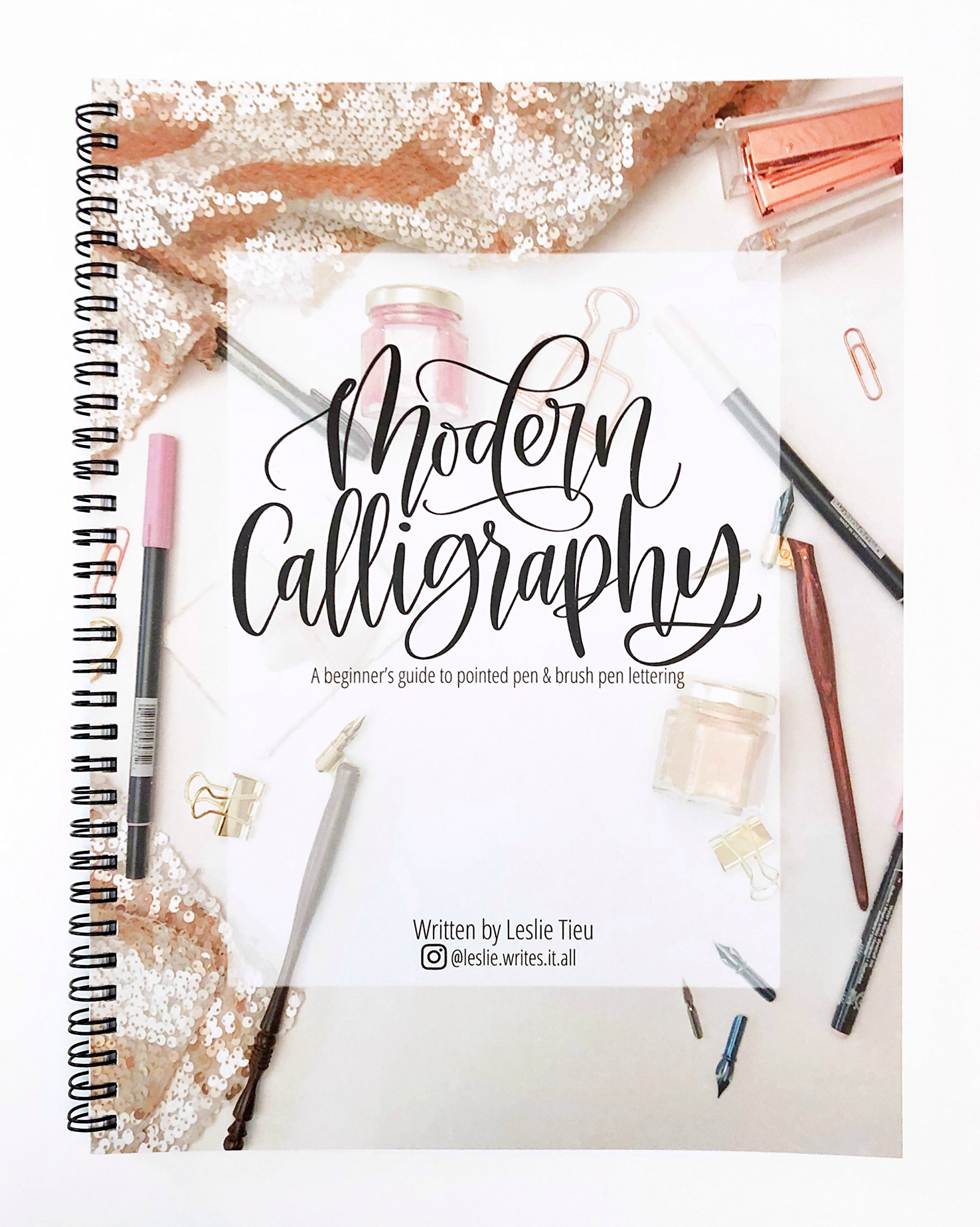 Modern Calligraphy: A Beginner's Guide to Pointed Pen and Brush Pen Lettering by