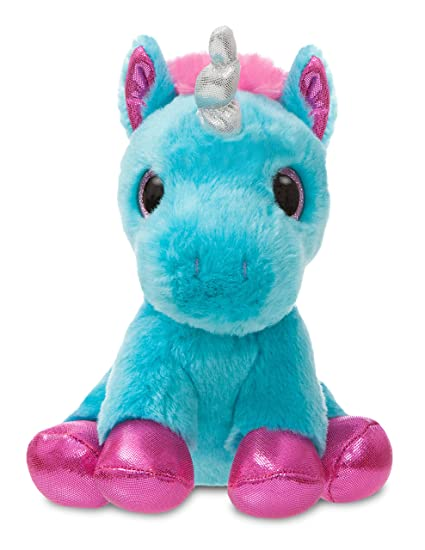 6e152a7303f Image Unavailable. Image not available for. Color  Aurora World 60860 Sparkle  Tales Moonbeam Unicorn Soft Toy ...