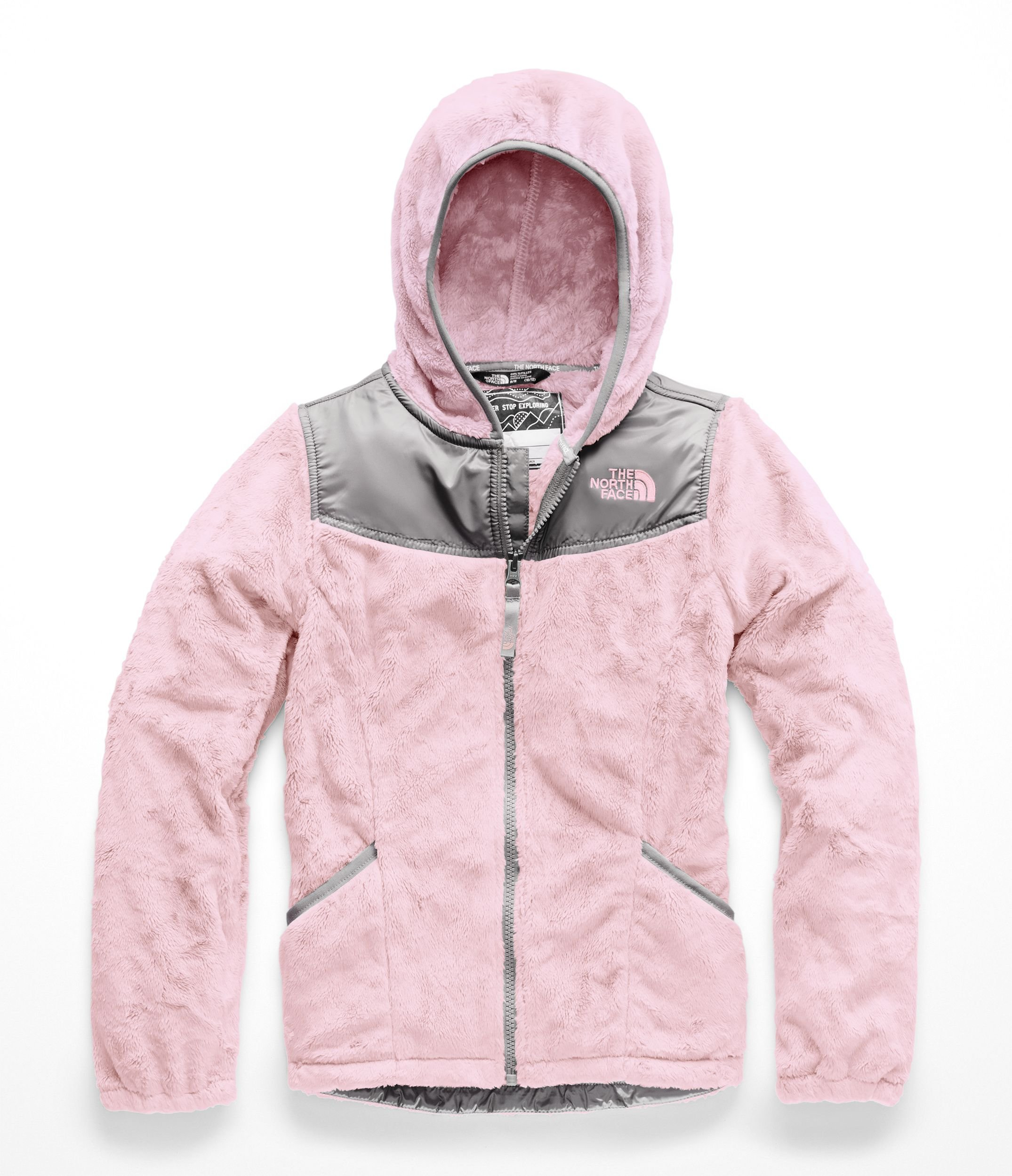 The North Face Girl's OSO Hoodie - Purdy Pink - XXS
