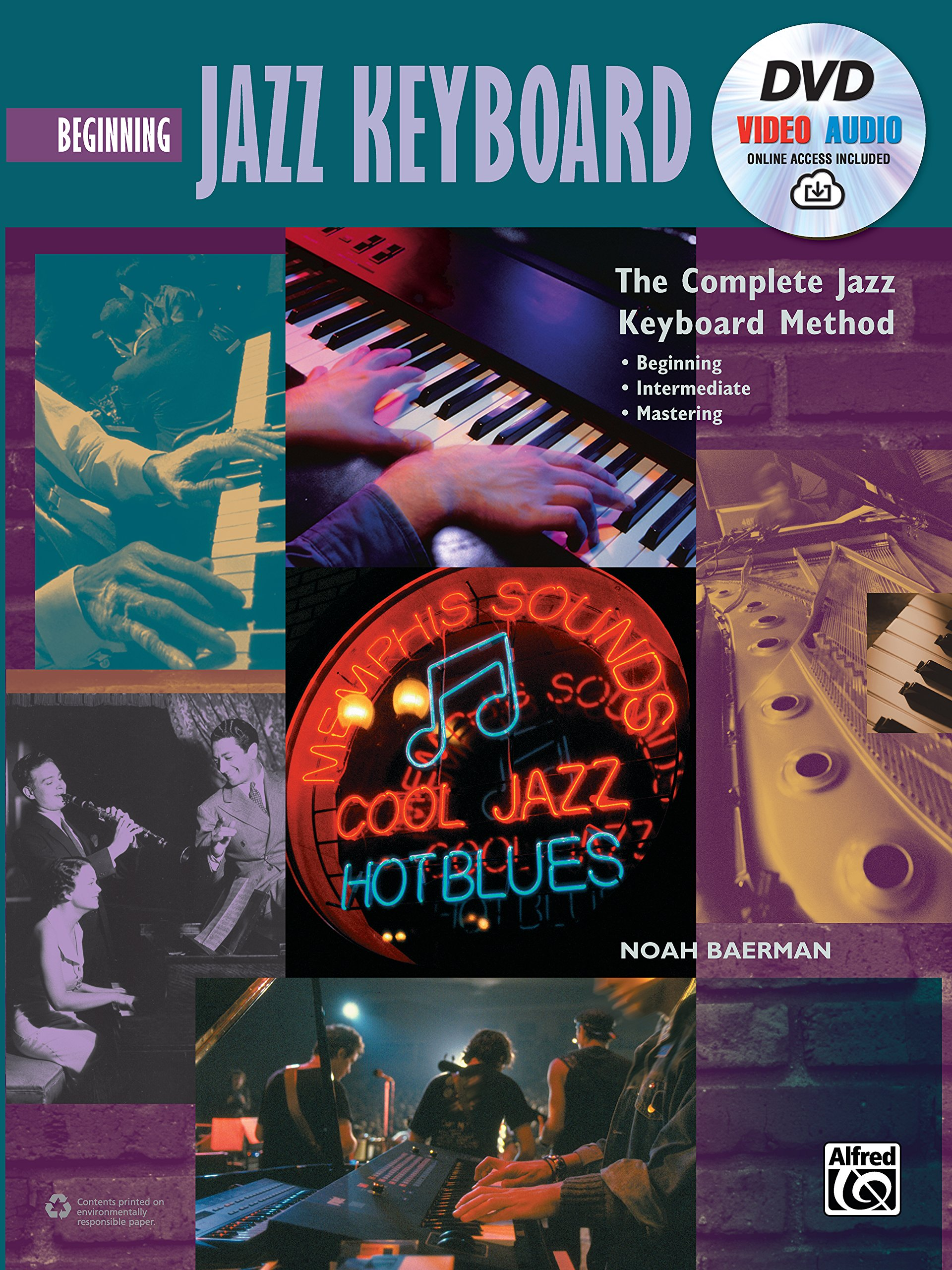 Complete Jazz Keyboard Method Beginning product image