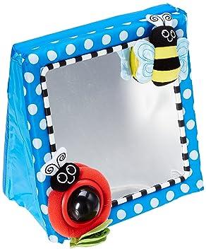 Amazon.com : Sassy Floor Mirror, Blue : Baby Toys : Baby