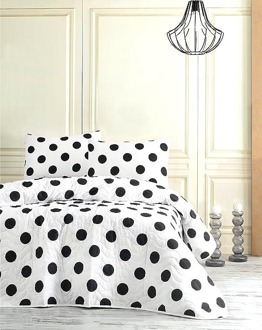 Amazon.com: Polka Dot Bedding, Full/Queen Size Bedspread/Coverlet